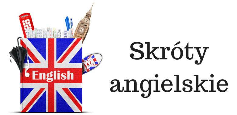 Skróty angielskie