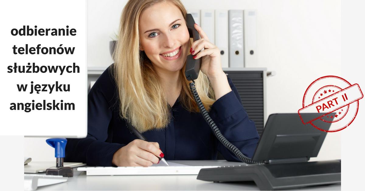 Receiving Phone Calls at Work