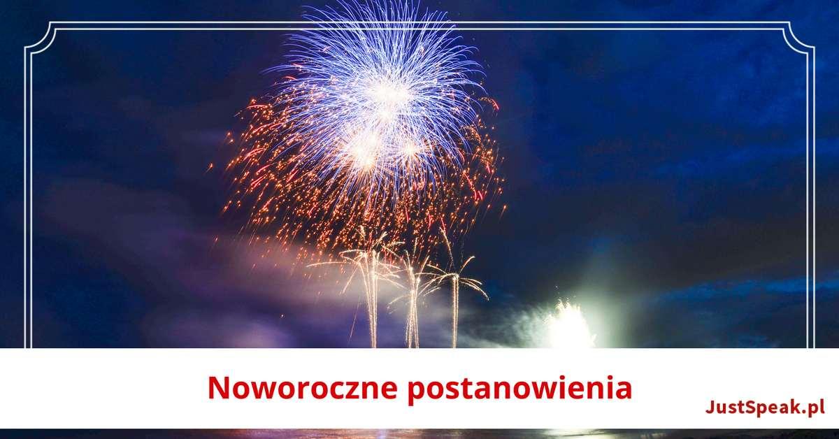 Postanowienia Noworoczne, czyli New Year's Resolutions